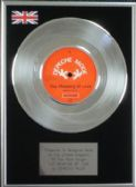 "Depeche Mode 7"" Platinum Disc - The Meaning of Love"